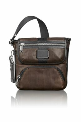 Barton Leather Crossbody  Alpha-Bravo