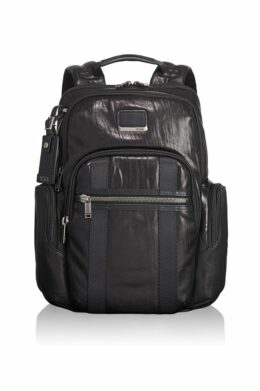 Nellis Leather Backpack  Alpha-Bravo